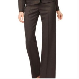 Sharagano Brown Career Pants 4